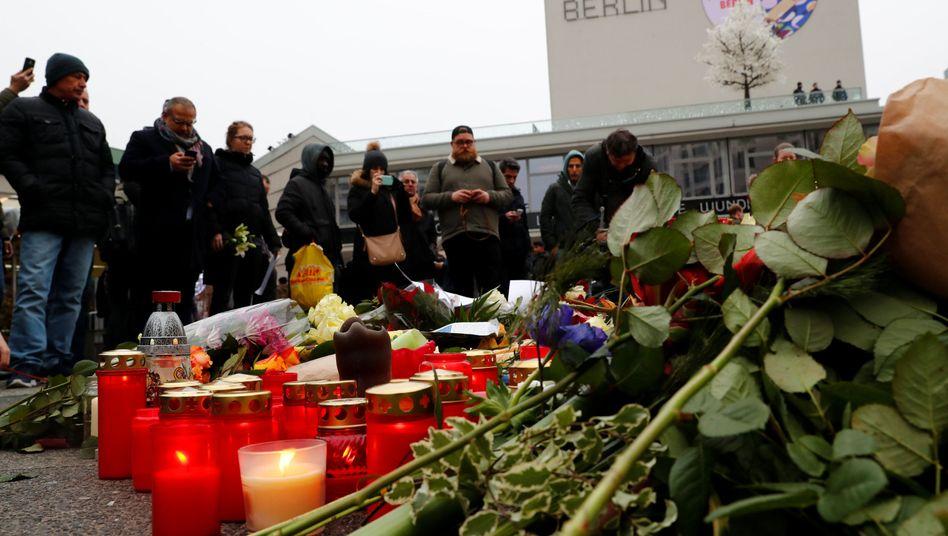 Trauernde in Berlin