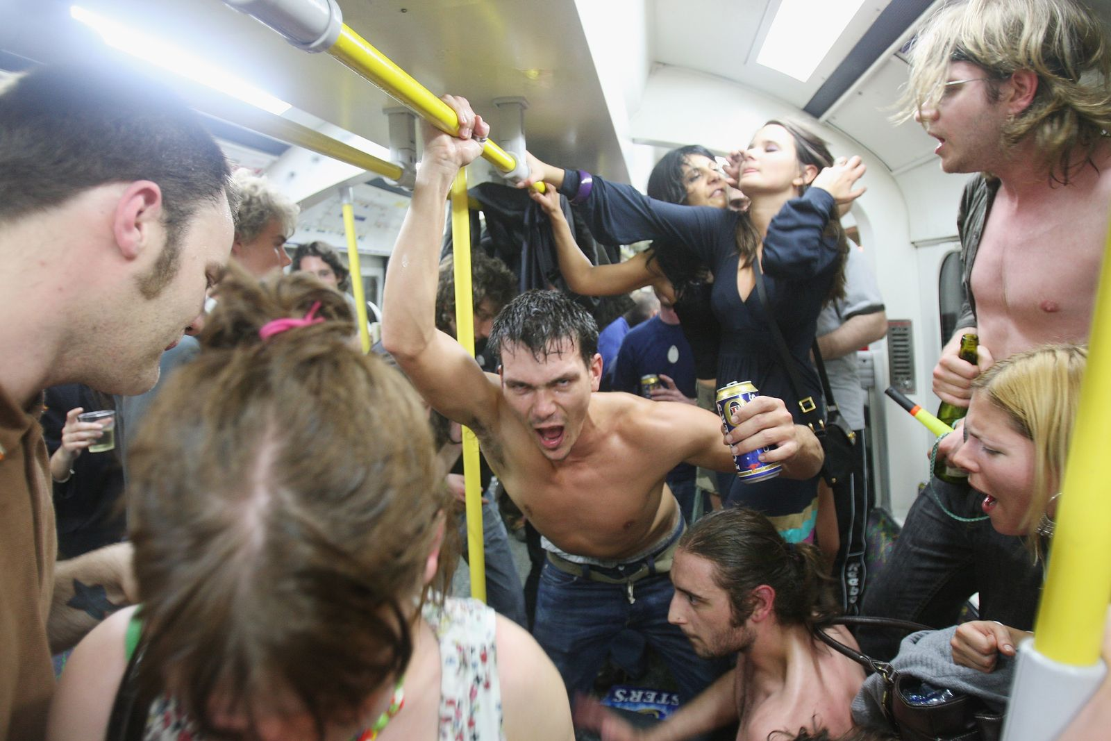 London/ Underground/ Party