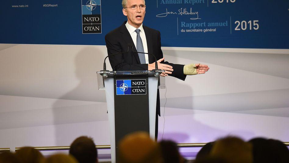 """Nato-Generalsekretär Stoltenberg: """"Das Bild ist gemischt, aber das Bild ist besser"""""""