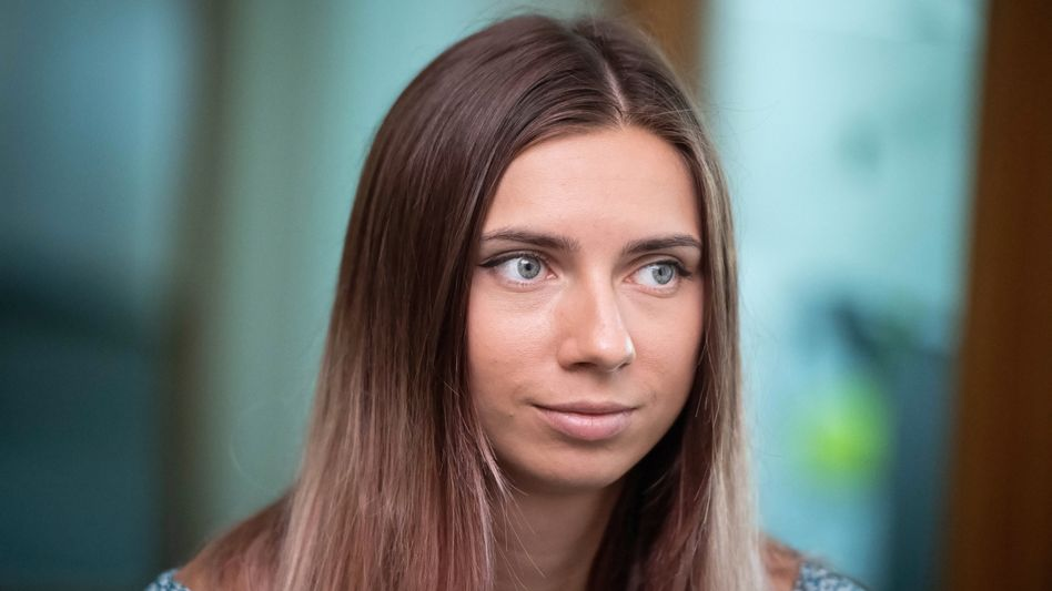 Sprinterin Kristina Timanowskaja