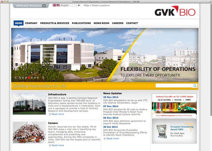 GVK Bio: Kontrolleure stießen auf Fehler in den Daten