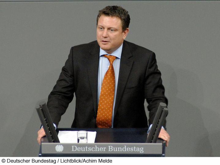 Jimmy Schulz, geboren 1968, ist erstmals mit der FDP in den Bundestag eingezogen. Er ist IT-Unternehmer