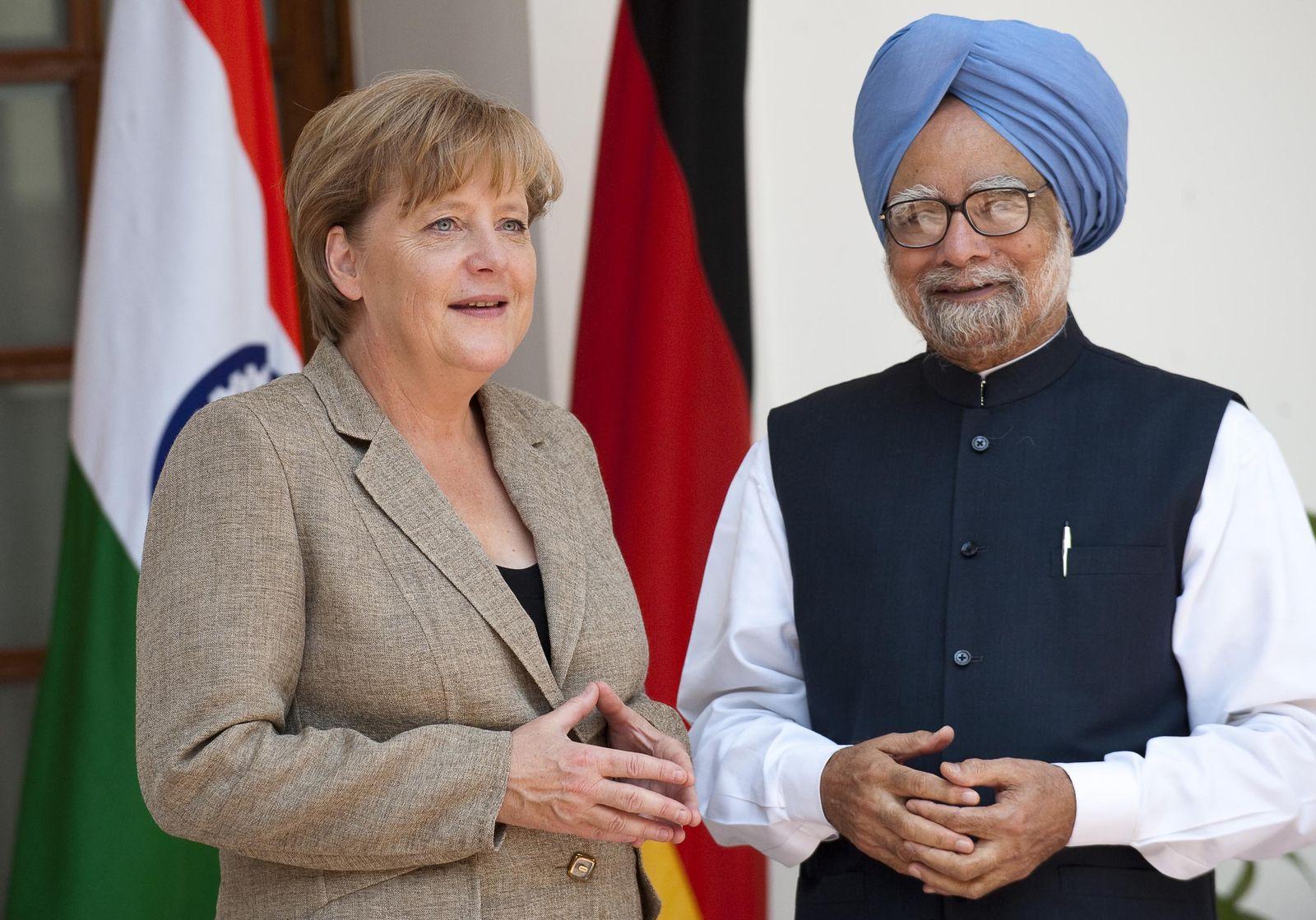 Merkel / Indien