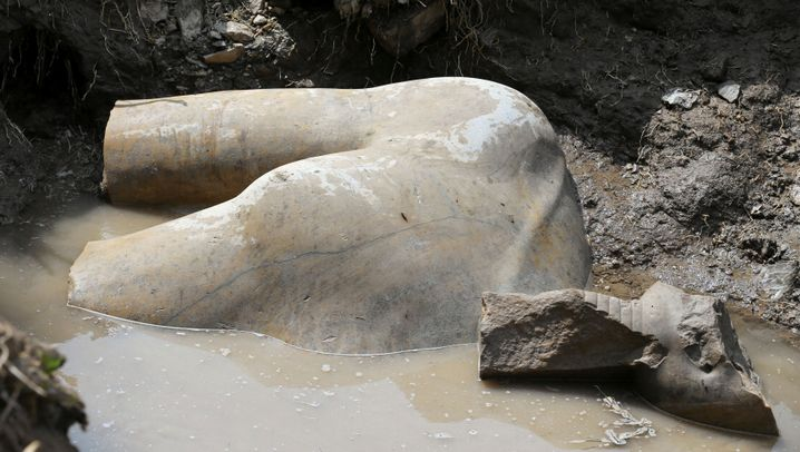 Fund in Kairo: Pharao aus Stein