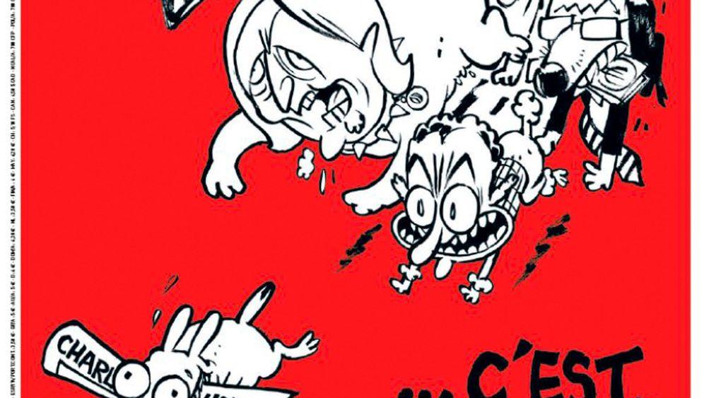 """""""Charlie Hebdo"""": Erste Ausgabe nach der Pause"""