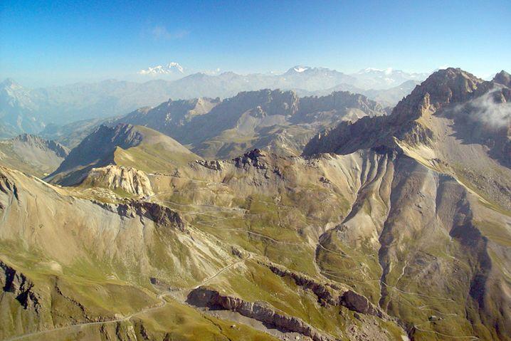 Col du Galibier: Die karge Bergwelt der südlichen französischen Alpen