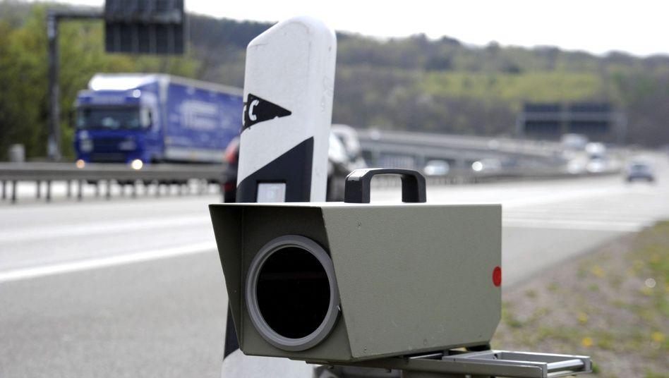 Geschwindigkeitskontrolle im Saarland