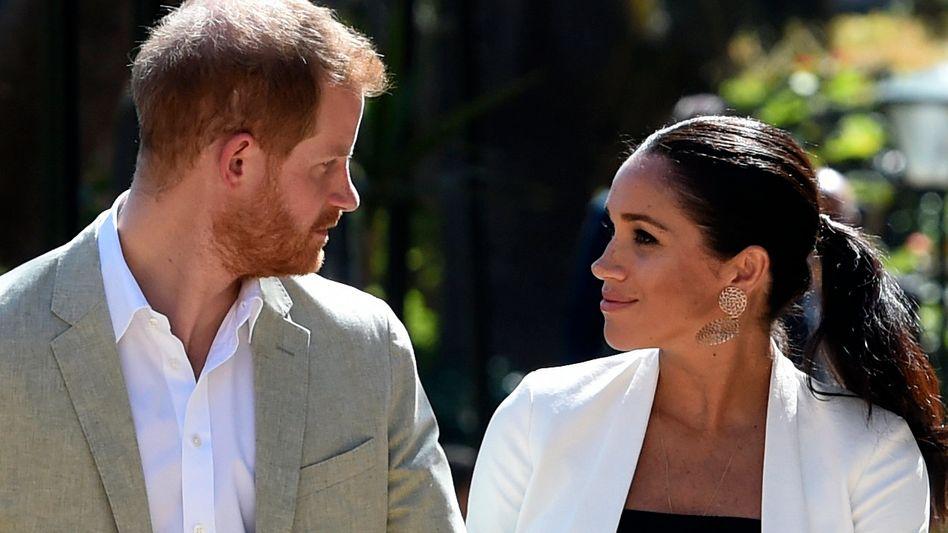Prinz Harry und seine Frau Meghan (Archiv)