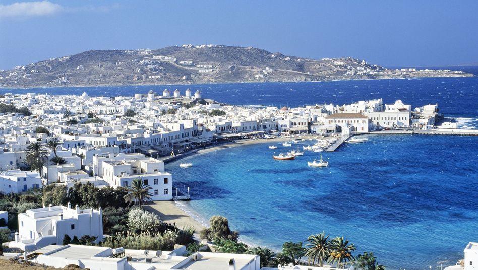 Insel Mykonos: Bisher gelten hier ermäßigte Mehrwertsteuersätze