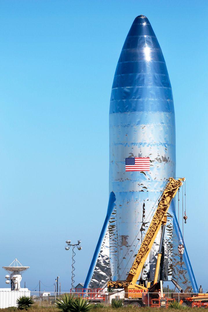 Das Konkurrenzprojekt »SpaceX« ist schon mehrmals zur ISS geflogen