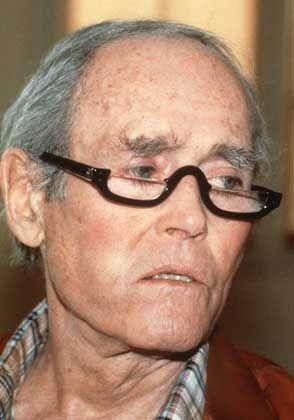 """Hollywood-Legende Henry Fonda: """"Ich musste doch tatsächlich meinem eigenen Vater beibringen, zu mir 'Ich liebe Dich' zu sagen."""""""
