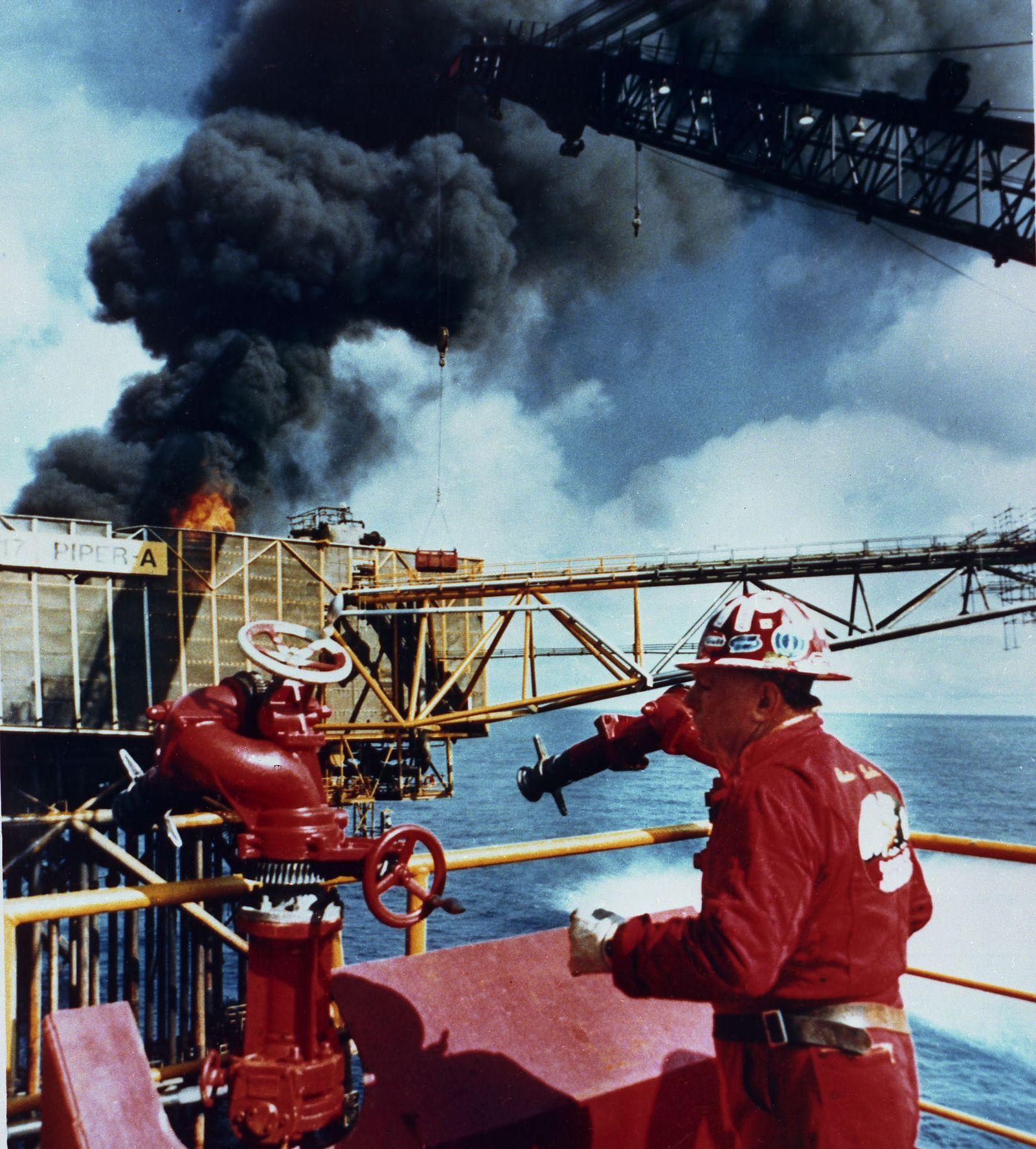 Öl / Unfall / Piper Alpha