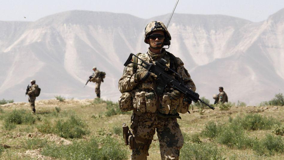 Bundeswehrsoldat in Afghanistan: Immer mehr im Visier der Taliban
