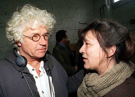 """Jean-Jacques Annaud bei den Dreharbeiten zu """"Enemy at the Gates"""""""