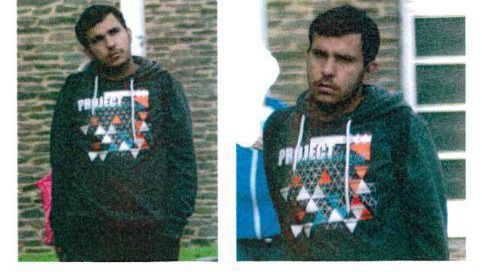 Fahndungsfotos nach Jaber Albakr