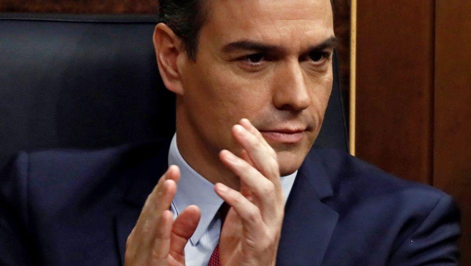 Genügend Stimmen: Pedro Sánchez