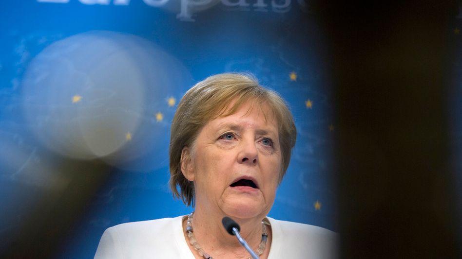"""Kanzlerin Merkel in Brüssel: """"Ein bisschen karg"""""""