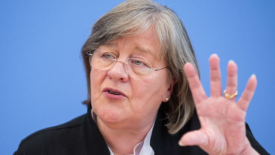 Datenschutzbeauftragte Andrea Voßhoff: Früher für die Vorratsdatenspeicherung, mittlerweile dagegen
