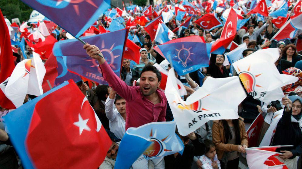 Türkei-Wahl: Jubel bei Erdogans Anhängern
