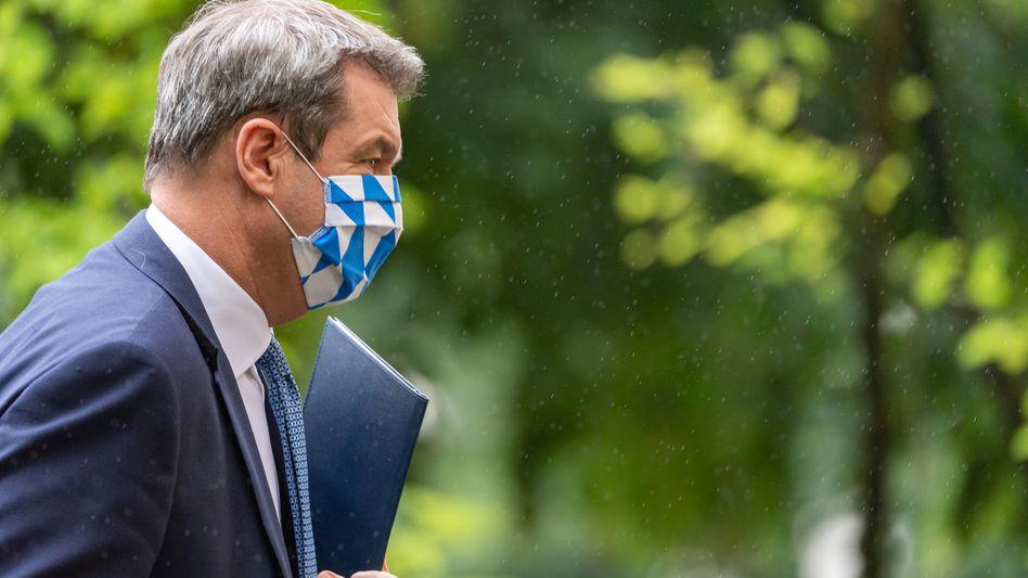 """Ministerpräsident Söder: """"Unglaublich viel passiert"""""""