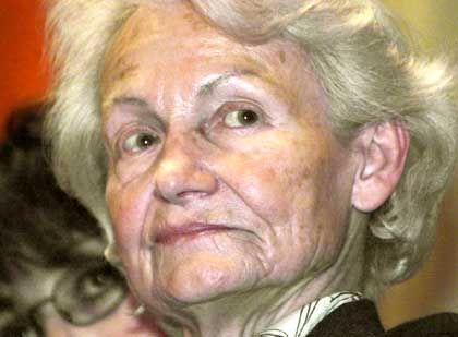 Margot Honecker im Oktober 2000 in Chile