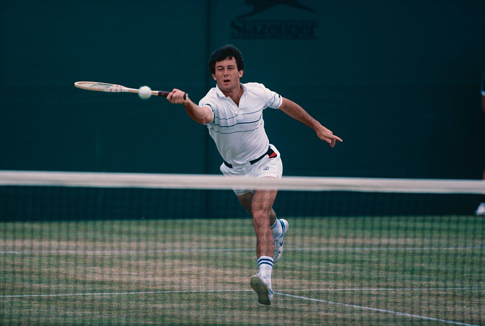 Bill Scanlon At 1983 Wimbledon Championships