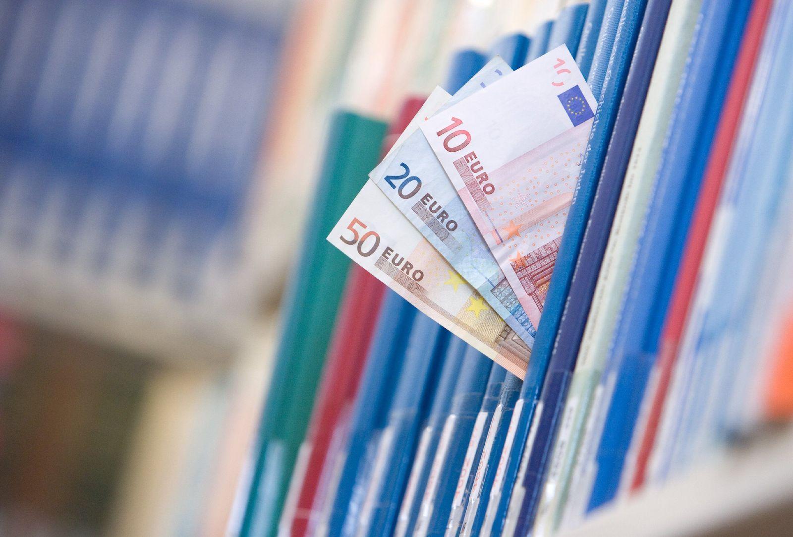 Stipendien Studenten Geld Bibliothek
