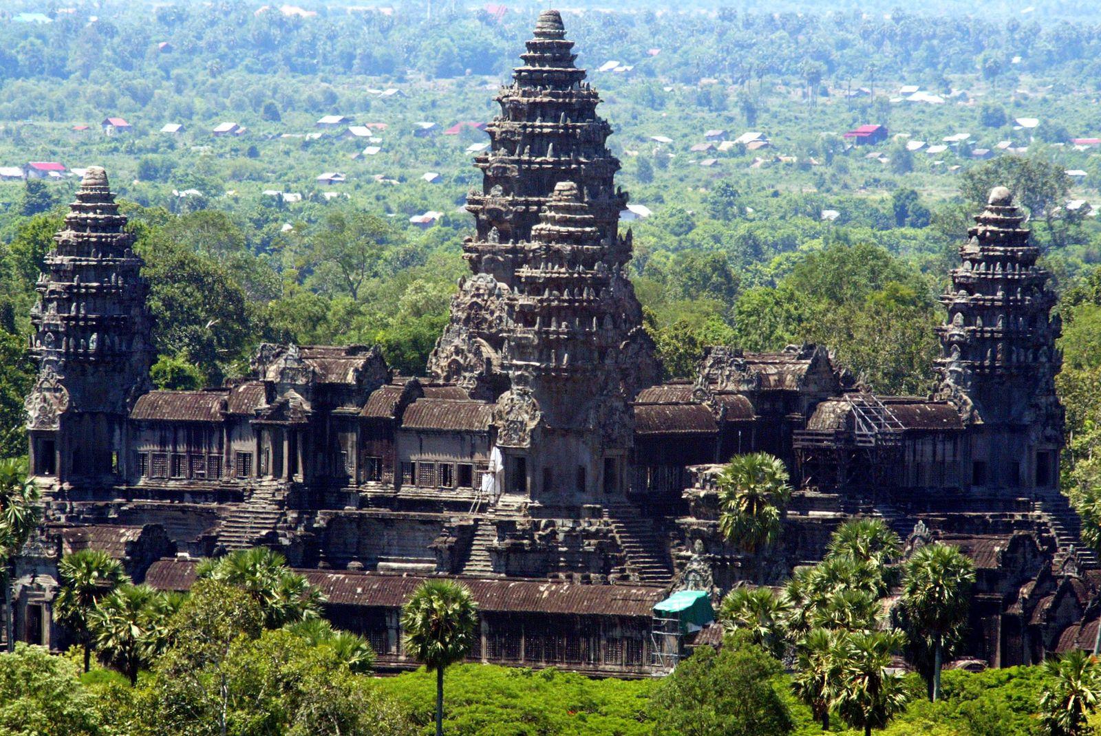 Angkor Wat Tempel / Kambodscha