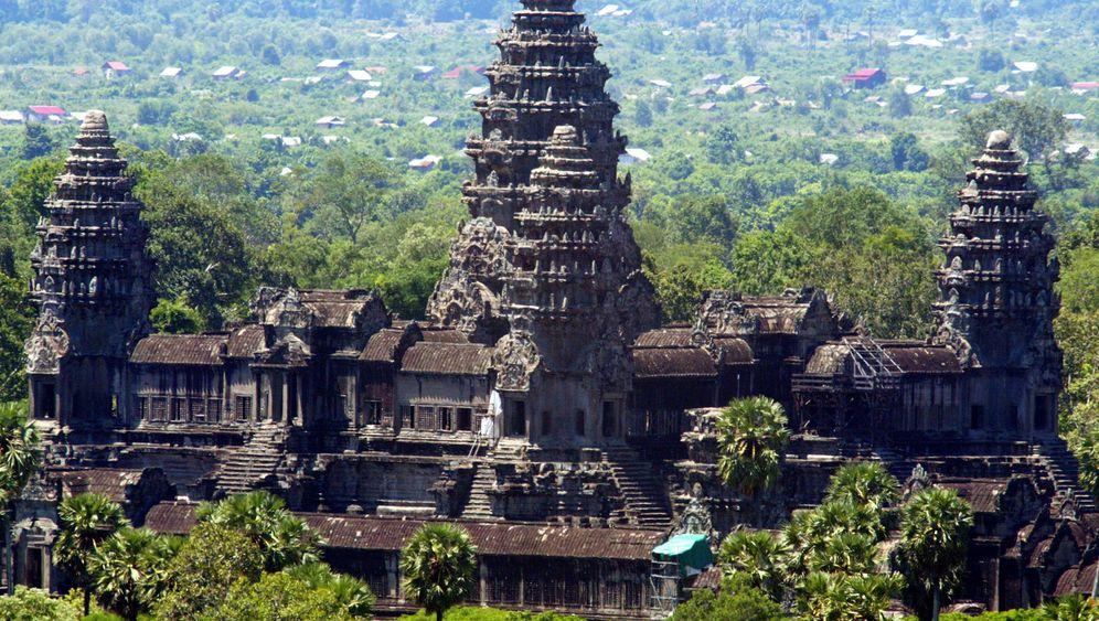 Laser-Bilder: Das wahre Gesicht von Angkor Wat