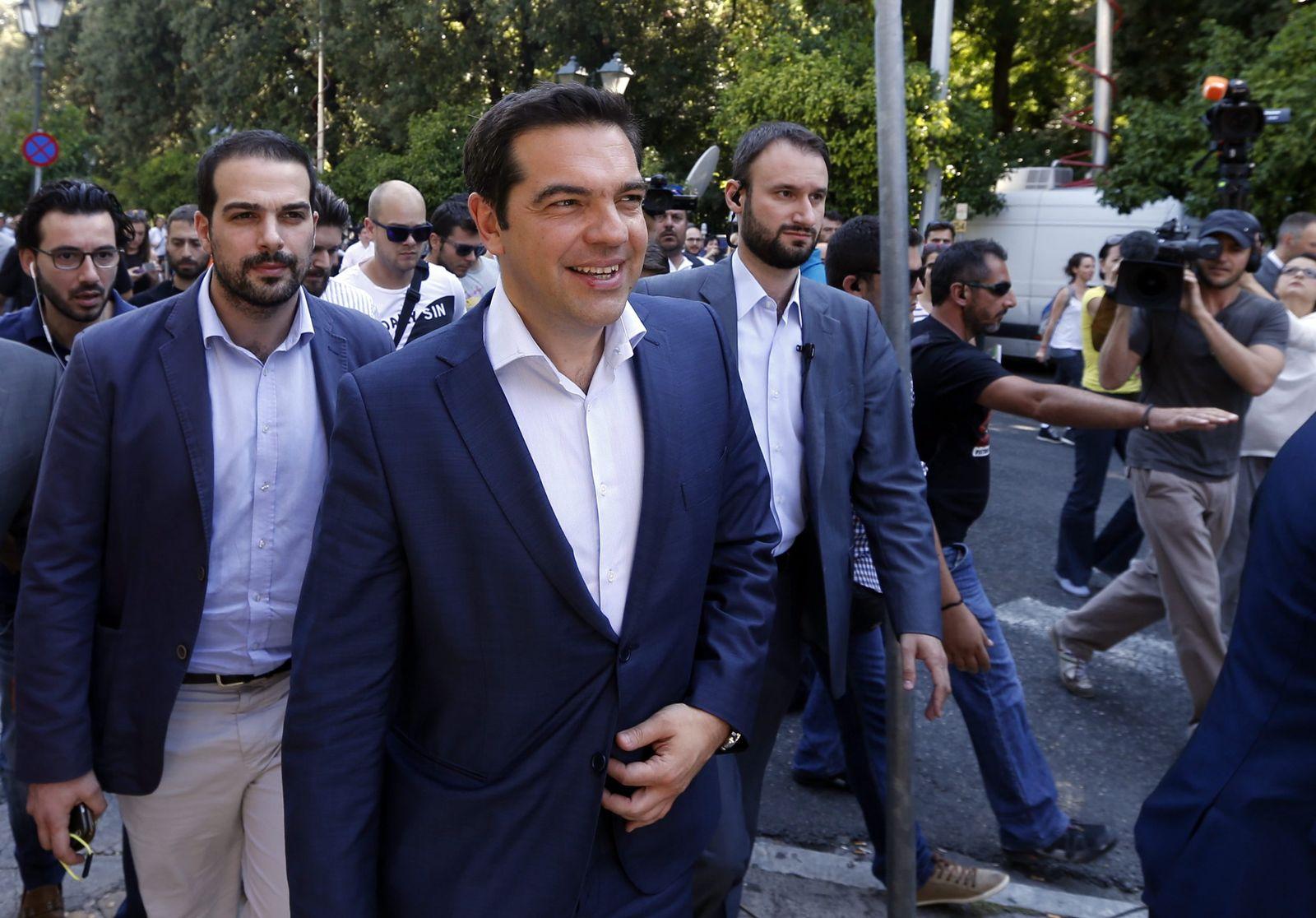 Griechenland Tsipras