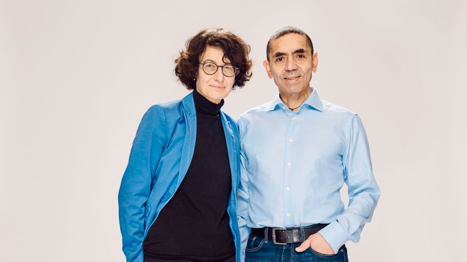 BioNTech founders Özlem Türeci and Uğur Şahin: Their company is also working on vaccines against the flu and cancer.