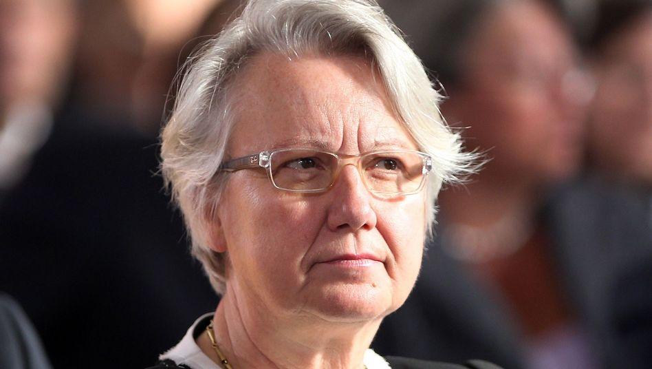Ex-Ministerin Schavan (Archiv): Uni Lübeck will die Ex-Ministerin ehren