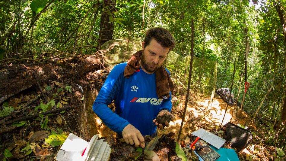 Benjamin Turner auf Barro Colorado Island, Panama: Aus Kohlenstoffspeichern werden CO2-Quellen