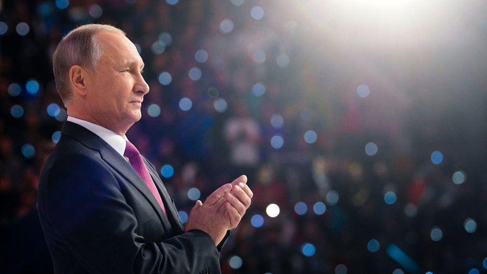 Präsident Putin: Stabilität und nationale Größe, so lauten seine Versprechen