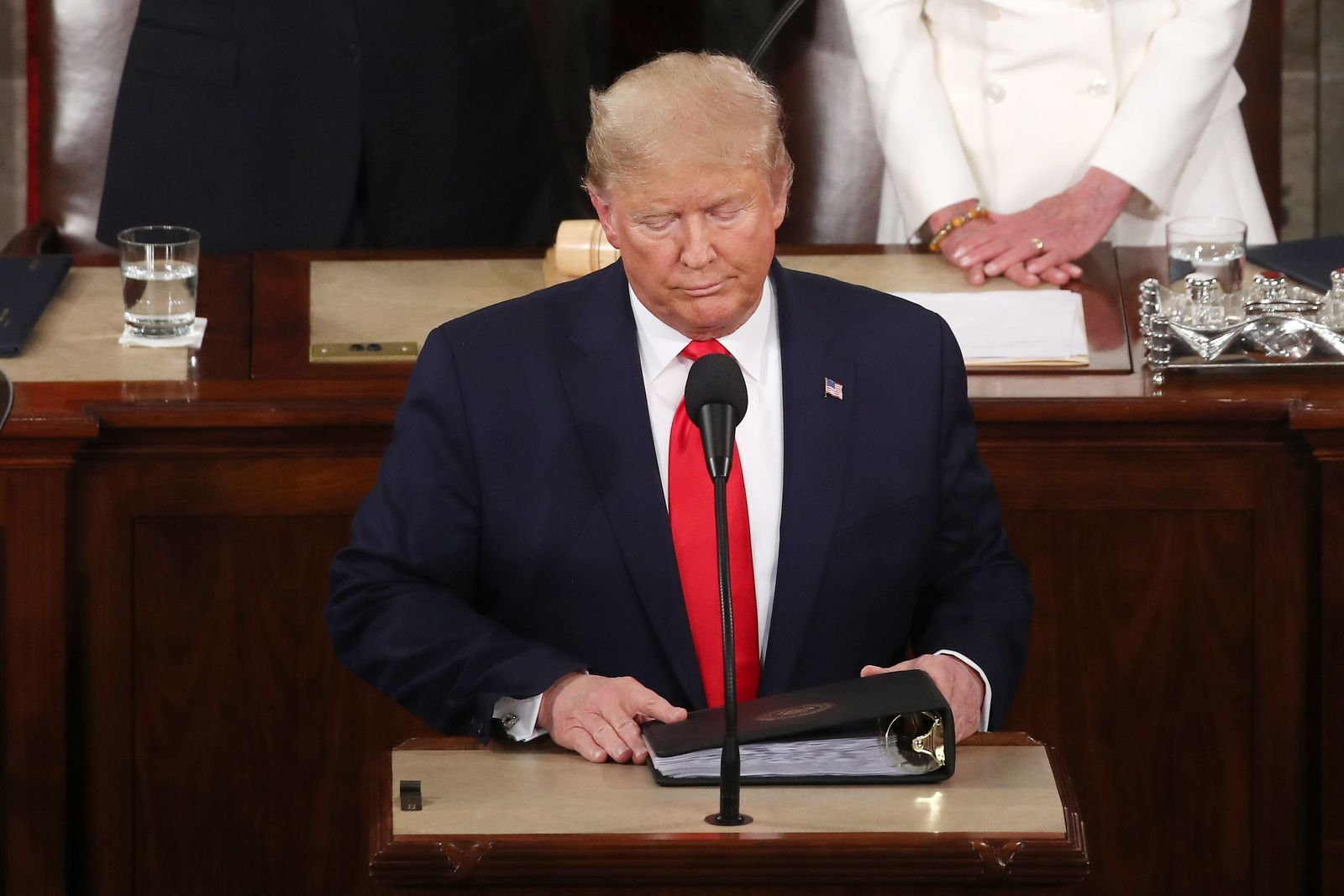 President Trump Gives State Of The Union Address