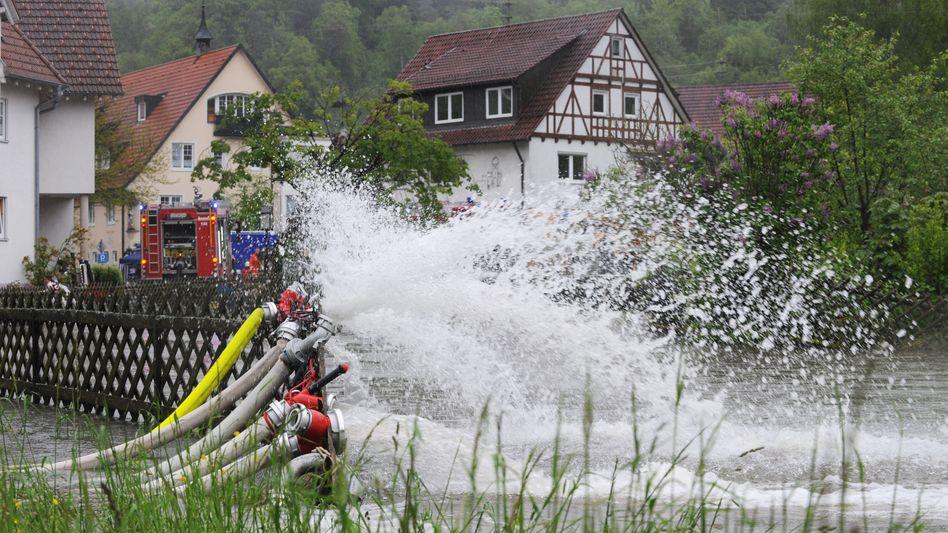 Wetterchaos in Deutschland: Und es kommt noch mehr Regen