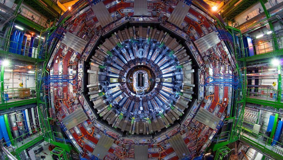 CMS-Detektor am Cern: Neues Teilchen entdeckt