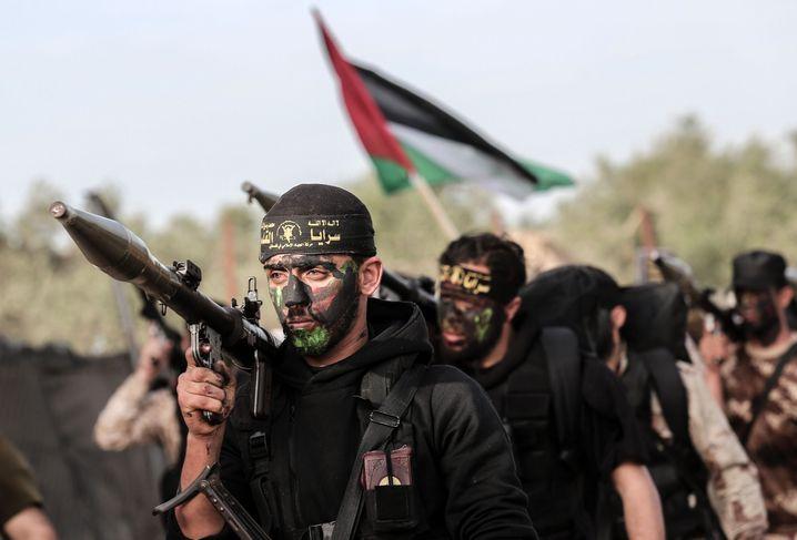 Kämpfer des Islamischen Dschihad im Gazastreifen