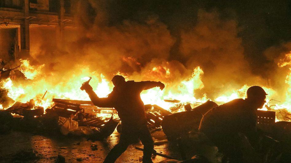 Straßenschlachten, Tote,Verletzte: Neuer Gewaltausbruch droht Ukraine zu zerreißen