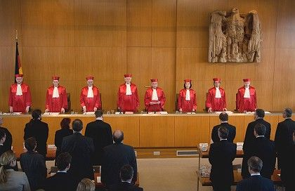 The Constitutional Court in Karlsruhe delivered their verdict Wednesday.