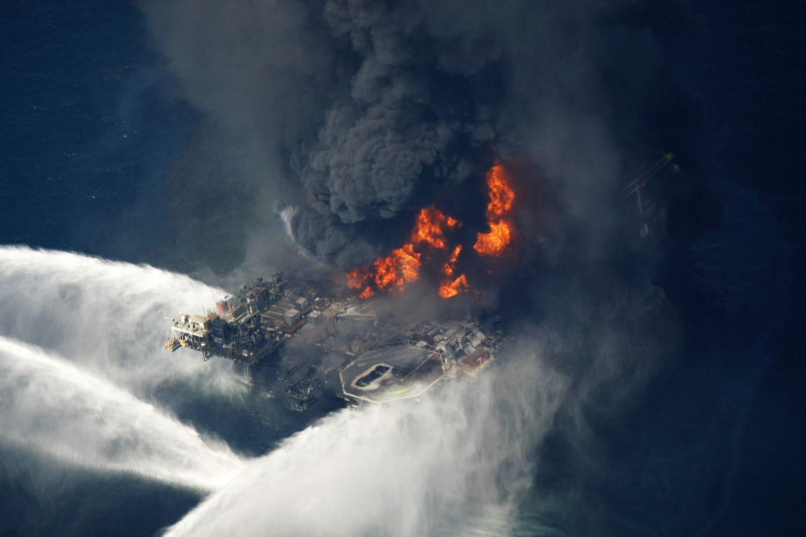 Louisiana / Öl-Bohrinsel-Explosion