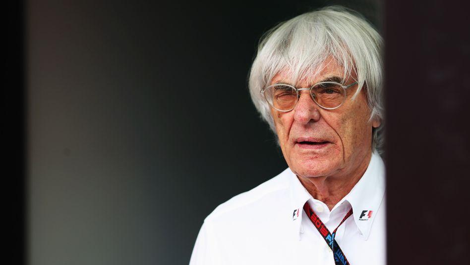 Schillernde Figur: Bernie Ecclestone am Nürburgring