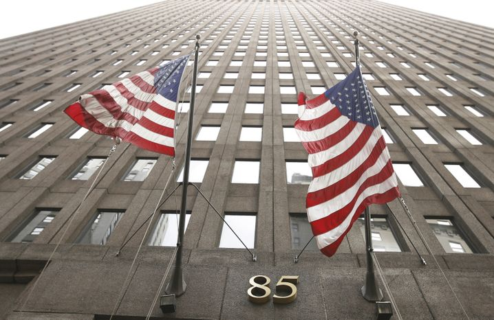 Goldman-Sachs-Zentrale in New York: 2,7 Milliarden Dollar Gewinn im zweiten Quartal