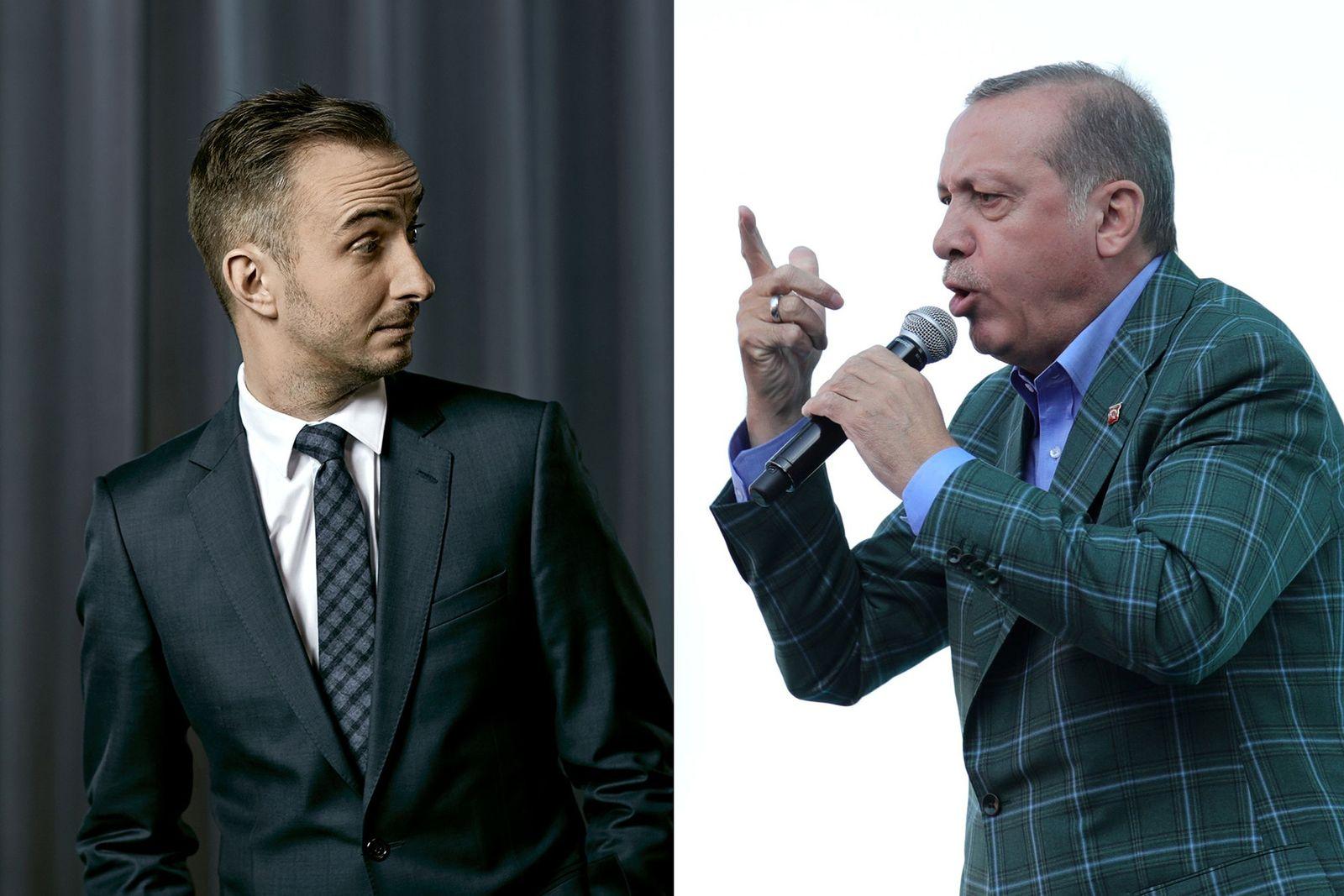 EINMALIGE VERWENDUNG Böhmermann vs. Erdogan KOMBO