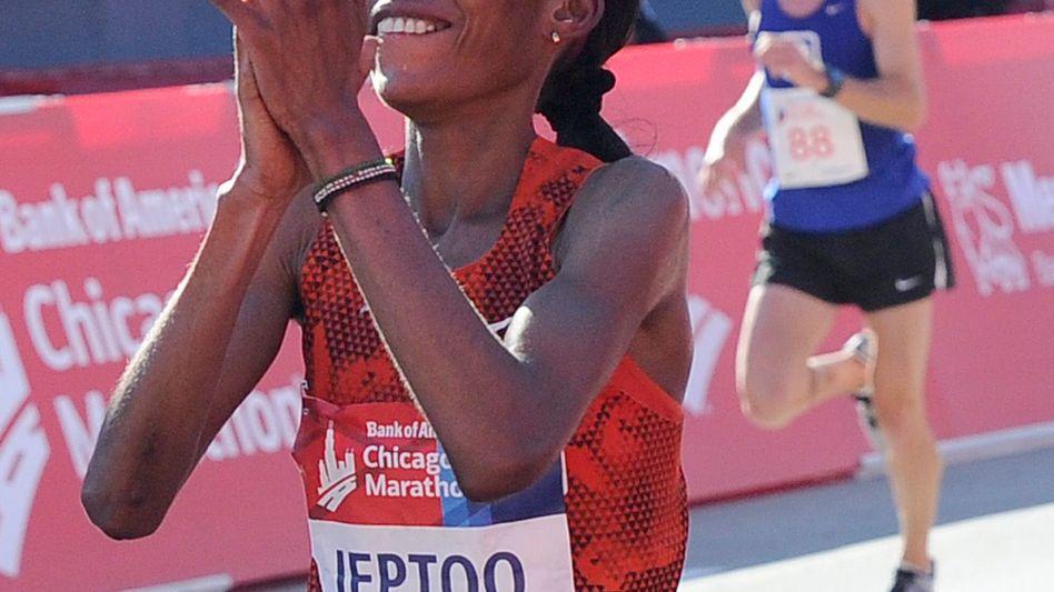 """Marathon-Läuferin Jeptoo: """"Athletin hat von ihrem Recht Gebrauch gemacht"""""""