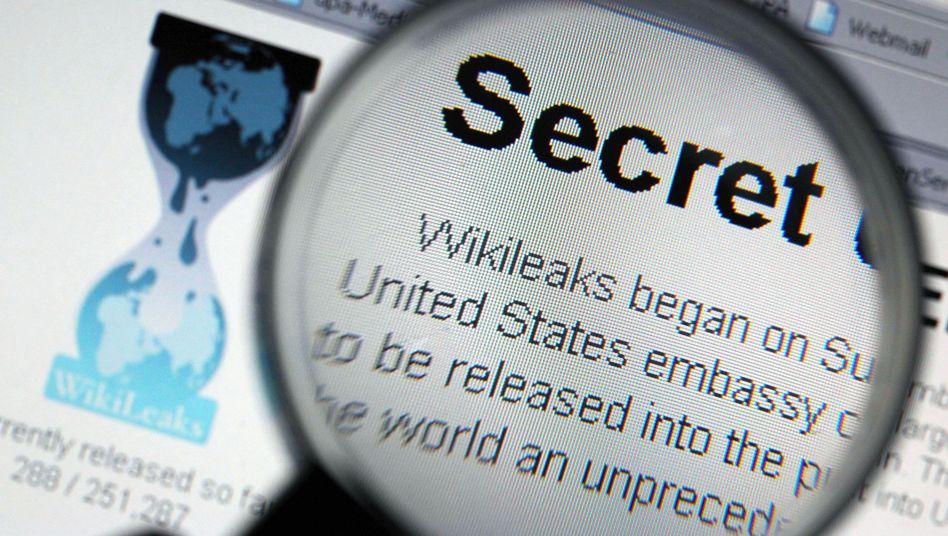 Website von WikiLeaks: 95 Seiten Copyright-Abkommen geleakt