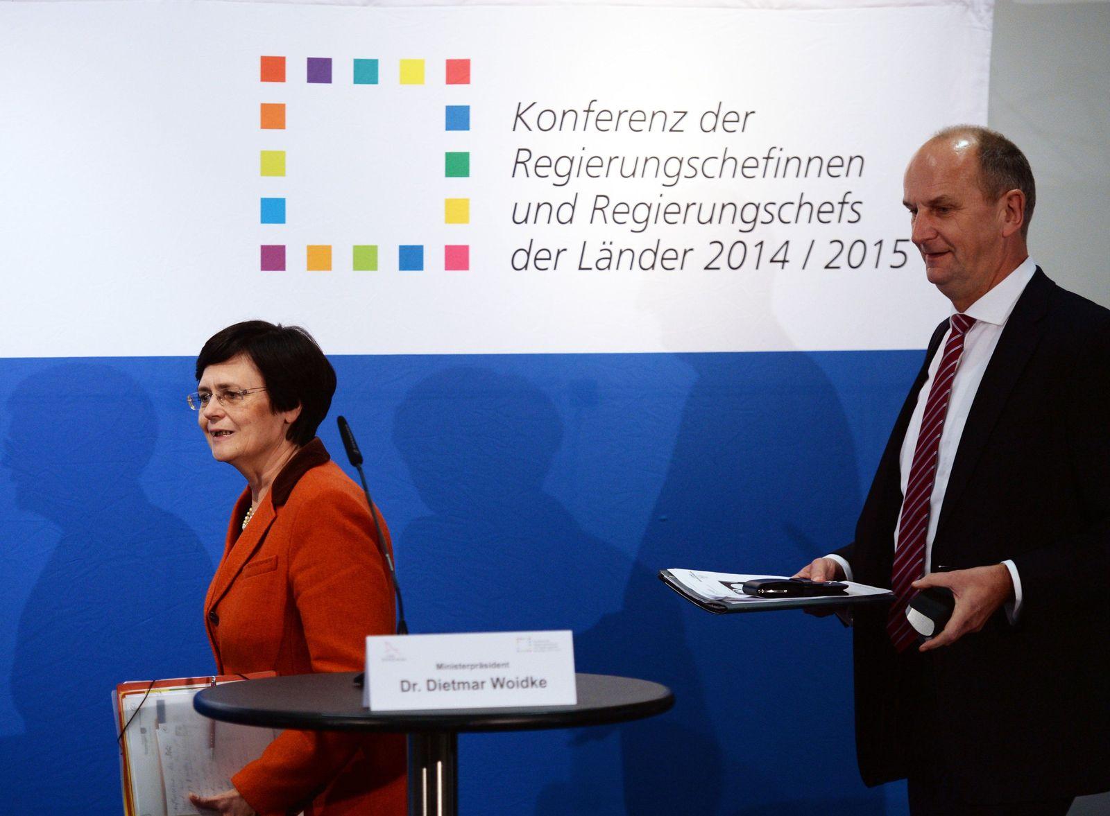 Ministerpräsidentenkonferenz in Potsdam