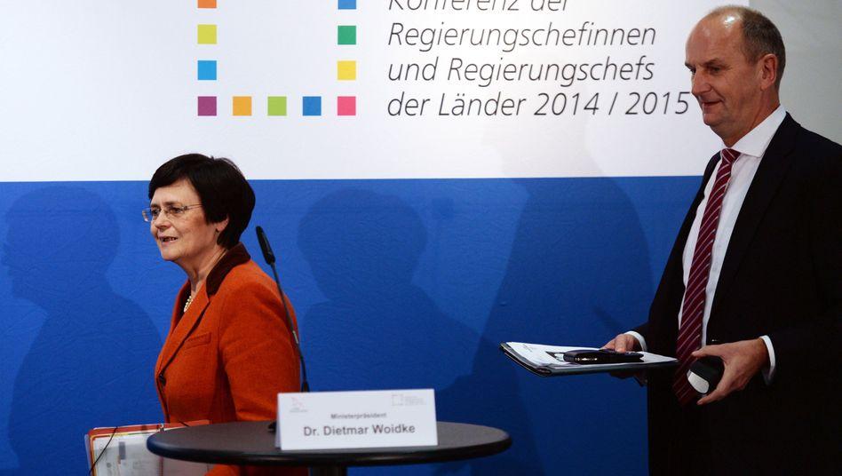 """Ministerpräsidentin Lieberknecht: """"Ich gehe nicht in die Arena des Löwen"""""""