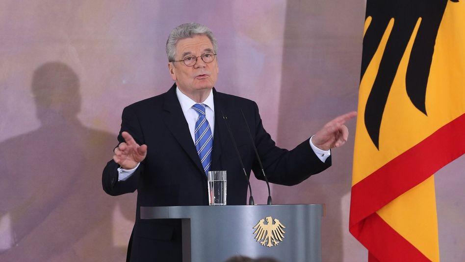 """Bundespräsident Gauck: Forderung nach """"mehr intellektueller Redlichkeit"""""""