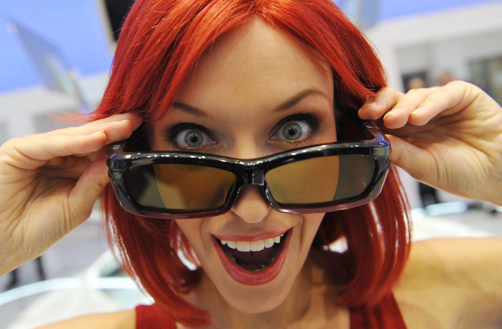 IFA 2010 / Miss IFA / 3D Brille